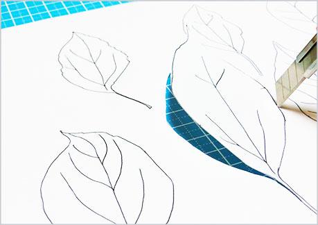 水彩画や水彩イラストの技法と描き方、スパッタリングの手順8
